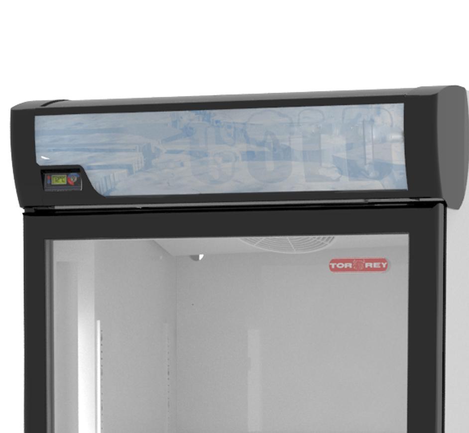 Torrey Refrigerador De Exhibici 243 N 14 Pies C 250 Bicos